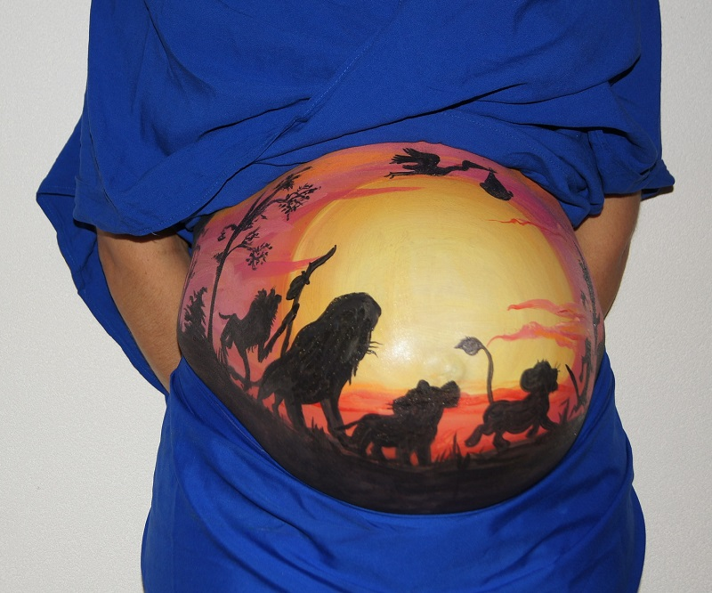 belly-painting-409792_1920