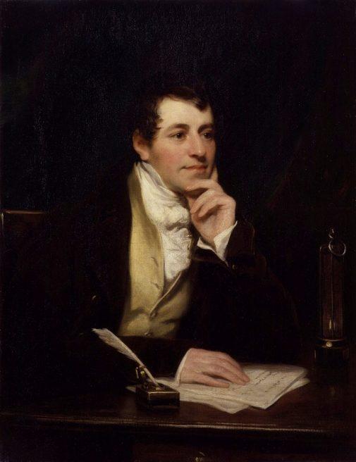 Humphrey Davy, inventatorul gazUlui ilariant, in 1799