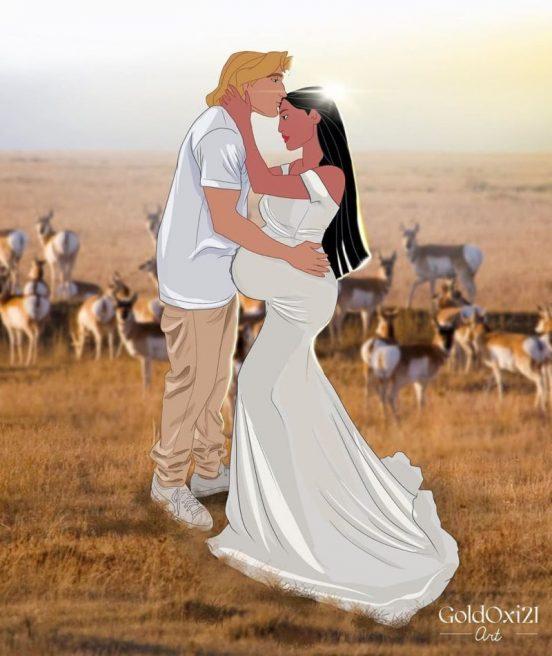 Pocahontas insarcinata
