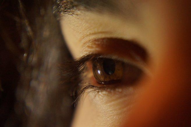 Ochi caprui de femeie